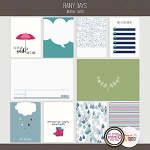 Rainy Days - Journal Cards