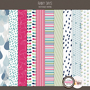 Rainy Days - Patterned Papers
