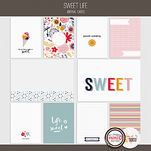 Sweet Life - Journal Cards