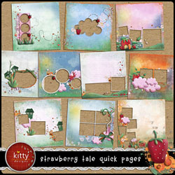 Strawberry Tale Quick Pages