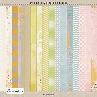 Sweet Awaits {Papers}