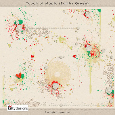 Touch of Magic {Earthy Green}