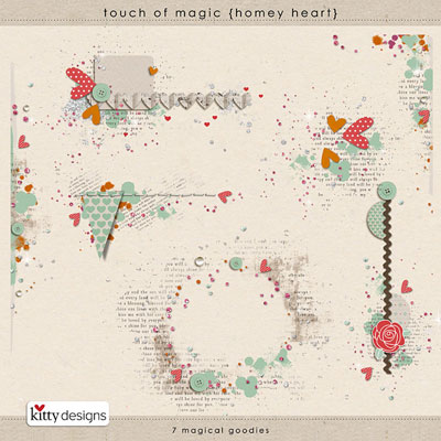 Touch of Magic {Homey Heart}