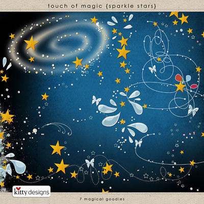 Touch of Magic {Sparkle Stars}