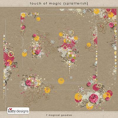 Touch of Magic {Splatterish}