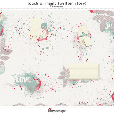 Touch of Magic {Written Story}
