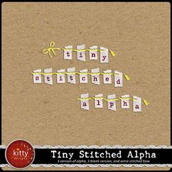 Tiny Stitched Alpha