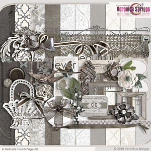 A Delicate Touch Page Kit