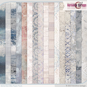 Bohemian Bliss Papers by Veronica Spriggs