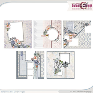 Bohemian Bliss Quick Pages by Veronica Spriggs