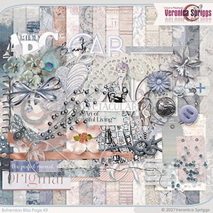 Bohemian Bliss Page Kit by Veronica Spriggs