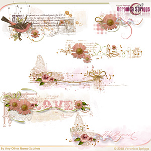 By Any Other Name Embellishments Mini Scatters