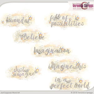 Just Suppose  Word Art
