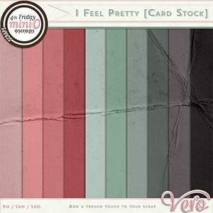 I Feel Pretty Cardstock by Vero