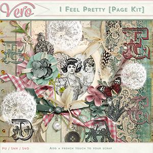 I Feel Pretty Page Kit by Vero