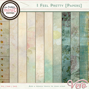 I Feel Pretty Papers by Vero