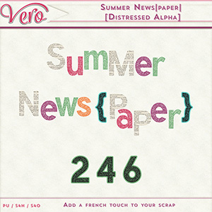 Summer News|paper| [Distressed alpha]