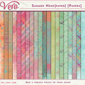 Summer News|paper| [Papers pack]