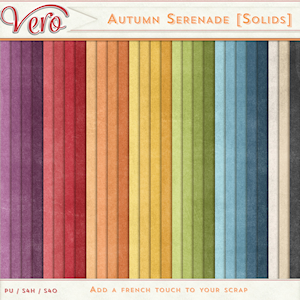 Autumn Serenade Solid Papers by Vero