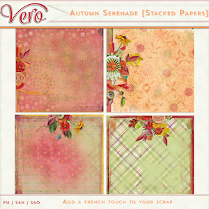 Autumn Serenade Stacked Papers by Vero
