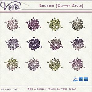 Boudoir Glitter Styles by Vero