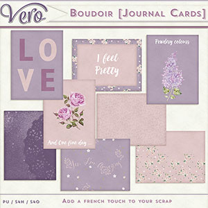 Boudoir Journal Cards by Vero