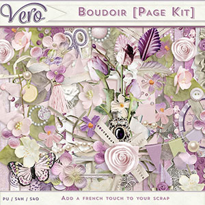 Boudoir Page Kit by Vero