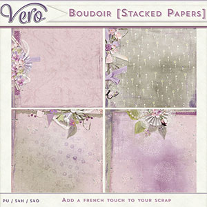 Boudoir Stacked Papers by Vero