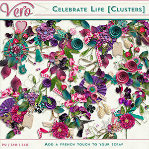 Celebrate Life Clusters by Vero