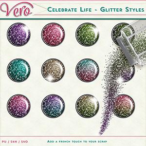 Celebrate Life - Glitters styles