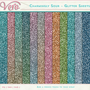 Charmingly-Sour - Glitter Sheets