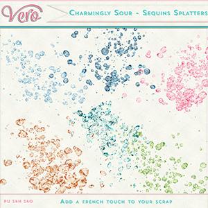 Charmingly-Sour - Sequins Splatters