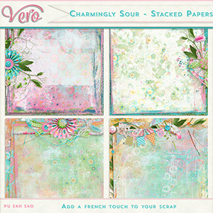 Charmingly-Sour - Stacked Papers