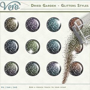 Dried Garden Glitter Styles by Vero
