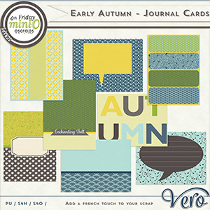 Early Autumn - Journal Cards