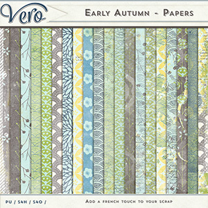 Early Autumn - Papers Pack