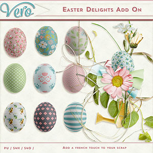 Easter Delights Elements Add-On by Vero