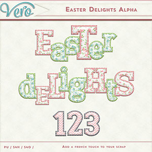 Easter Delights Alphas by Vero