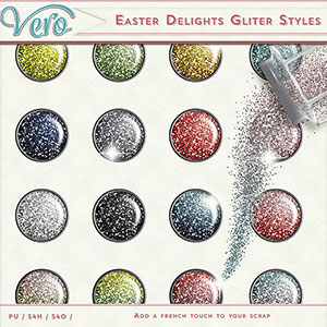 Easter Delights Glitter Styles by Vero