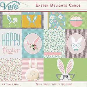Easter Delights Journal Cards by Vero