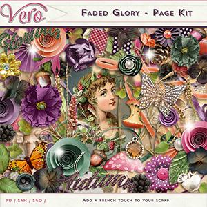 Faded Glory - Page Kit