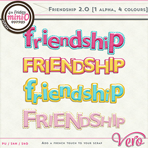 Friendship 2.0 - Alpha