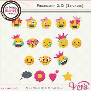 Friendship 2.0 - Stickers