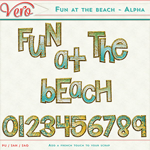 Fun at the beach - Alpha pack