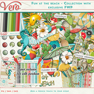 Fun at the Beach - Collection + Exclusive Free with purchase