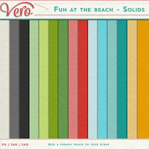 Fun at the beach - Solids