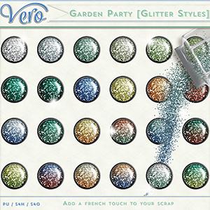 Garden Party Glitter Styles by Vero