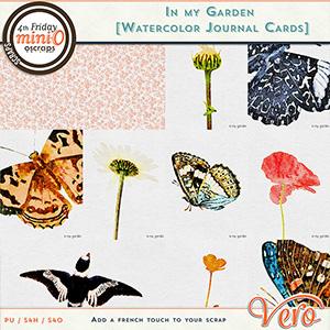 In My Garden Journal Cards by Vero