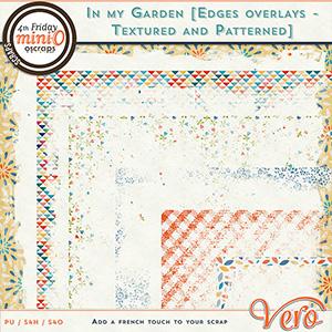 In my garden - Edge overlays