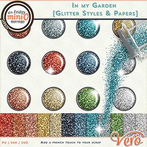 In my garden - Glitter Styles